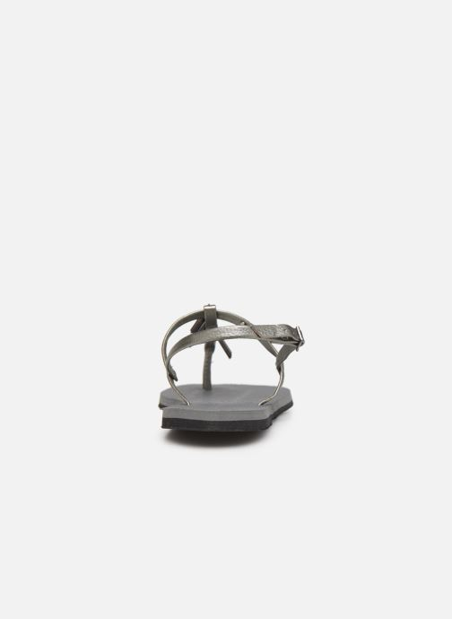 Sandals Havaianas You Riviera Maxi Silver view from the right