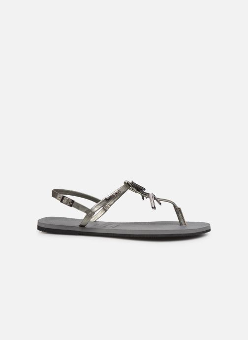 Sandals Havaianas You Riviera Maxi Silver back view