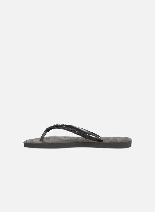 Slippers Havaianas Slim Glitter Zwart voorkant