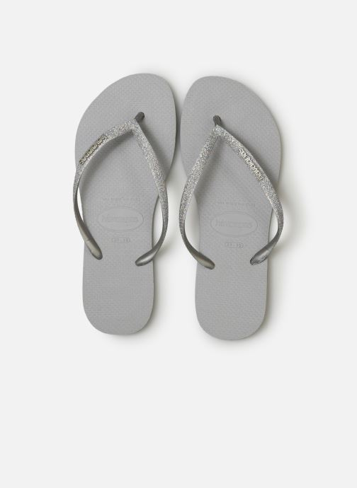Slippers Havaianas Slim Glitter Zilver model