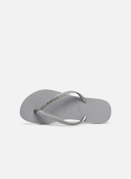 Slippers Havaianas Slim Glitter Zilver links