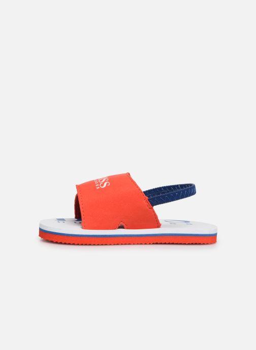 Sandaler BOSS Claquette J09110 Röd bild från framsidan