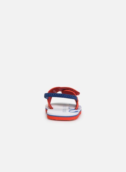Sandaler BOSS Claquette J09110 Röd Bild från höger sidan