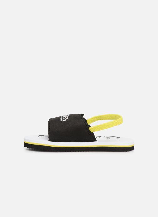 Sandalen BOSS Claquette J09110 schwarz ansicht von vorne