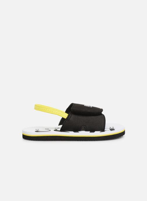Sandalen BOSS Claquette J09110 schwarz ansicht von hinten