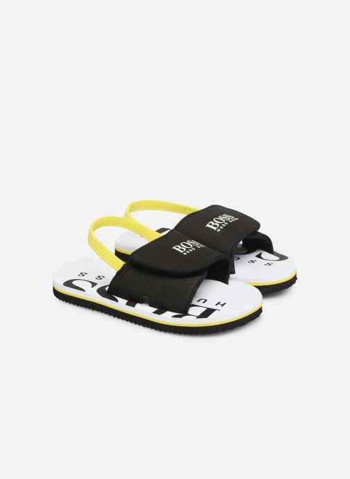 Sandalen BOSS Claquette J09110 schwarz detaillierte ansicht/modell