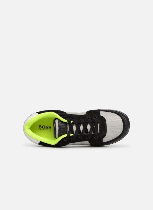 Sneakers BOSS Retrorunning J29168 Grigio immagine sinistra