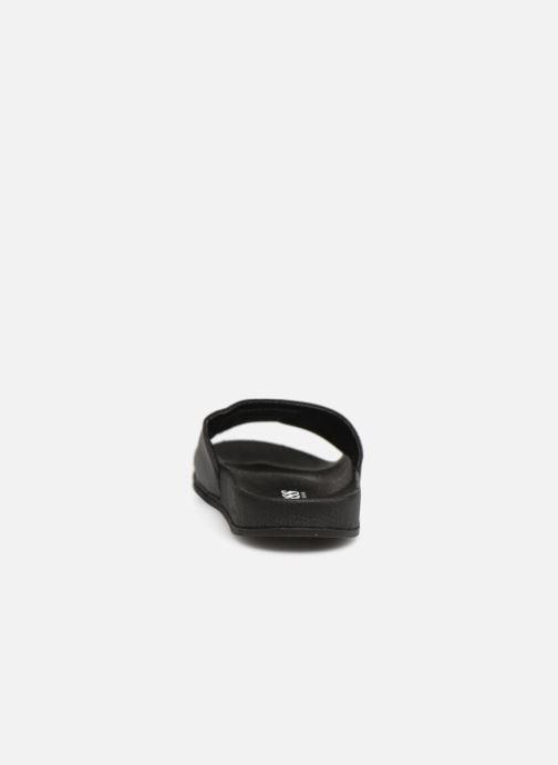 Sandales et nu-pieds BOSS Claquette Logo J29171 Noir vue droite
