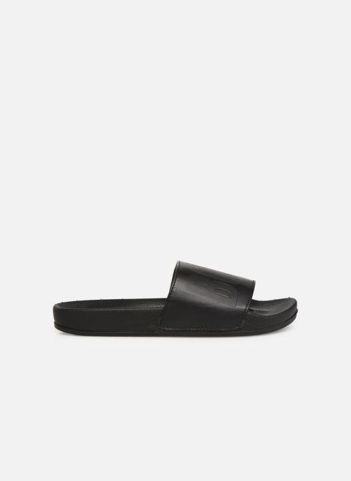 Sandales et nu-pieds BOSS Claquette Logo J29171 Noir vue derrière