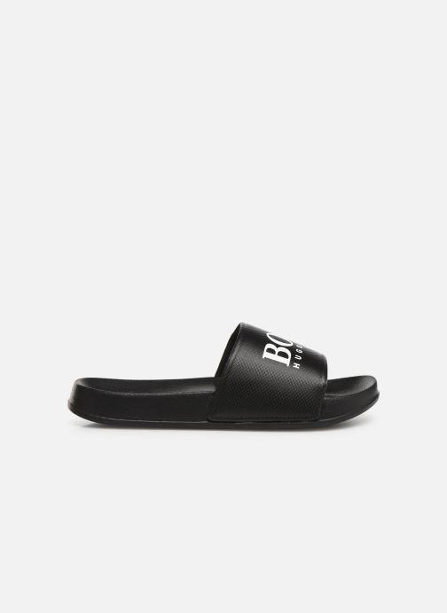 Sandales et nu-pieds BOSS Claquette print J29173 Noir vue derrière