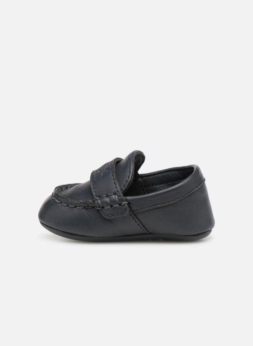 Pantoffels BOSS Mocassin BB J99064 Blauw voorkant