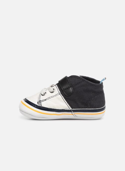 Sneakers BOSS Basket BB J99065 Blauw voorkant