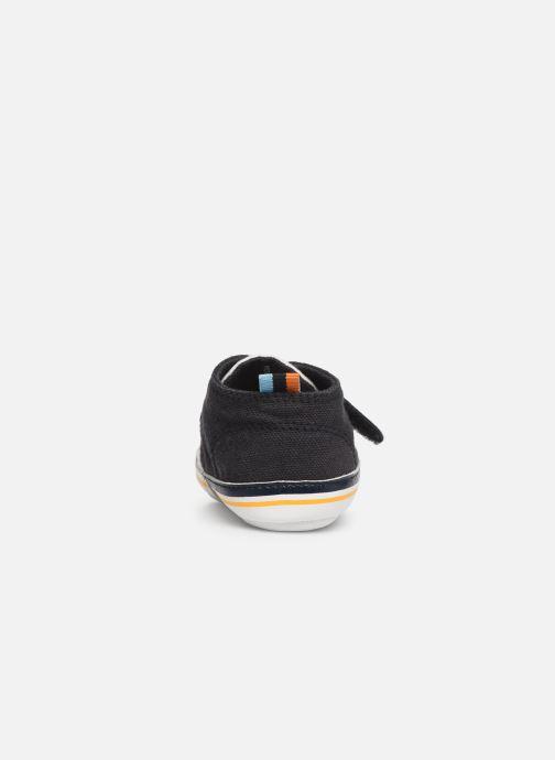 Sneakers BOSS Basket BB J99065 Blauw rechts
