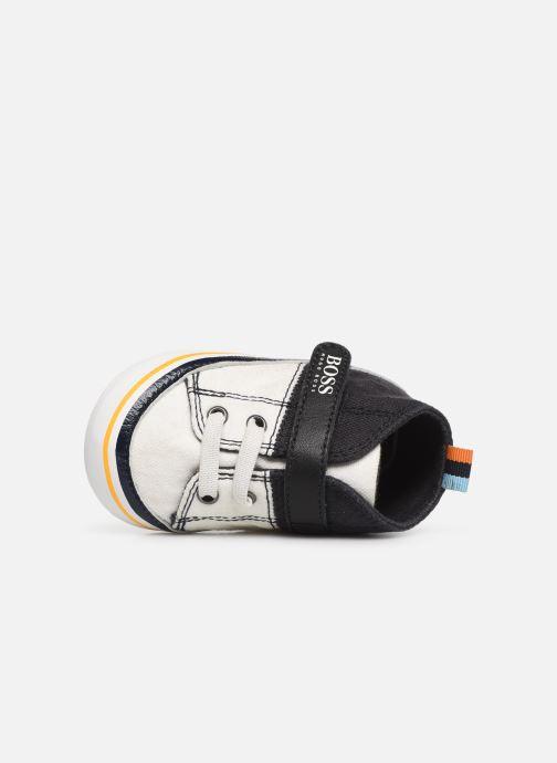 Sneakers BOSS Basket BB J99065 Blauw links