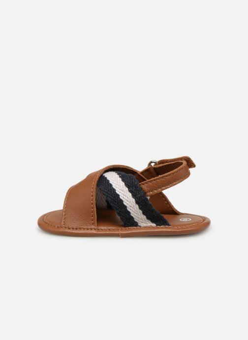 Sandales et nu-pieds BOSS Sandale BB J99066 Marron vue face