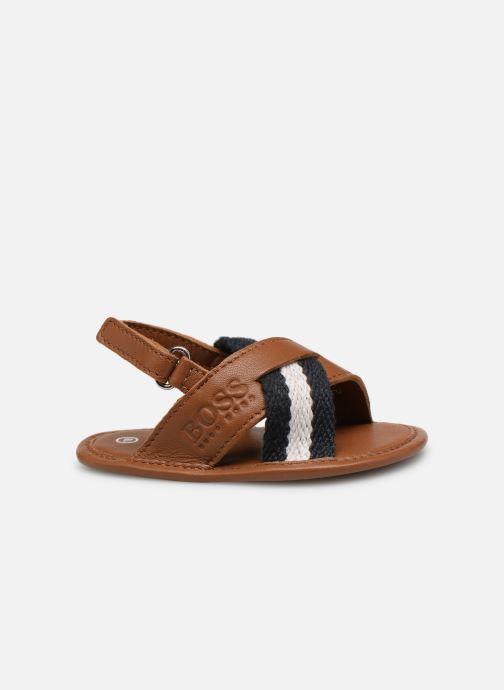 Sandales et nu-pieds BOSS Sandale BB J99066 Marron vue derrière