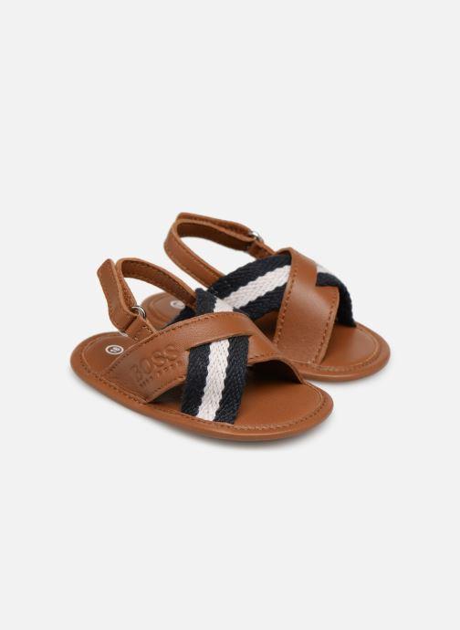 Sandales et nu-pieds BOSS Sandale BB J99066 Marron vue détail/paire