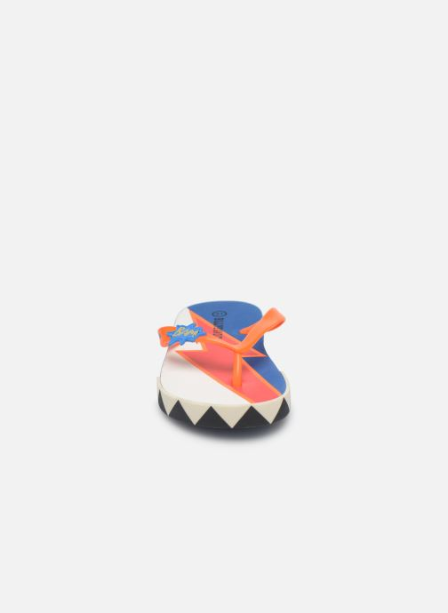 Tongs Billybandit WONDERFUL Orange vue portées chaussures