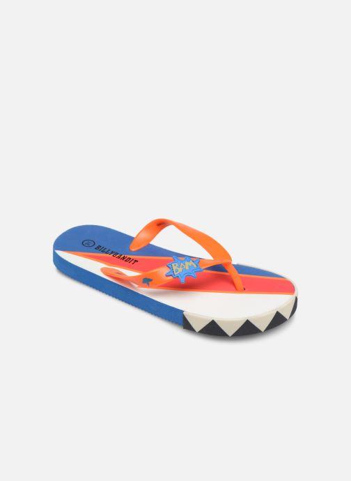 Tongs Billybandit WONDERFUL Orange vue détail/paire