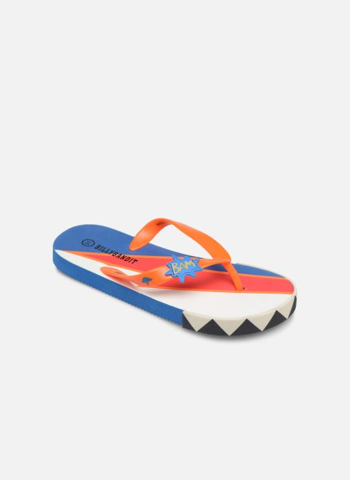 Tongs Billybandit WONDERFUL Orange vue détail/paire