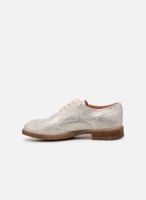Chaussures à lacets Acebo's Maria Or et bronze vue face
