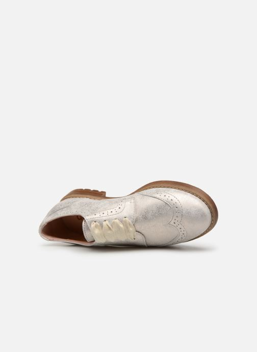 Chaussures à lacets Acebo's Maria Or et bronze vue gauche