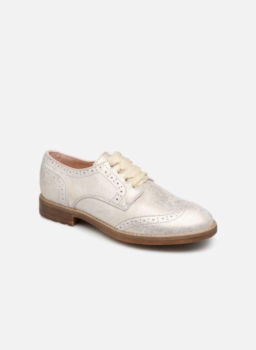 Chaussures à lacets Acebo's Maria Or et bronze vue détail/paire