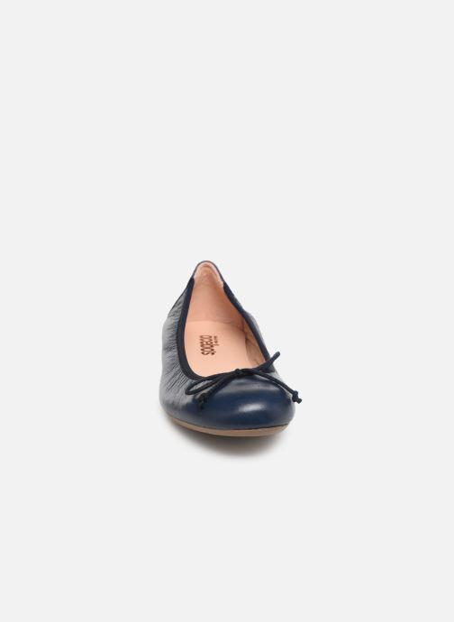Ballerines Acebo's Julia Bleu vue portées chaussures