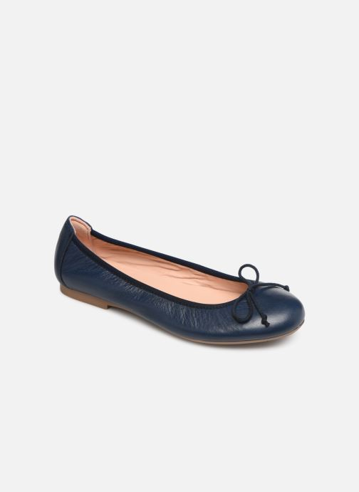 Ballerinas Acebo's Julia blau detaillierte ansicht/modell