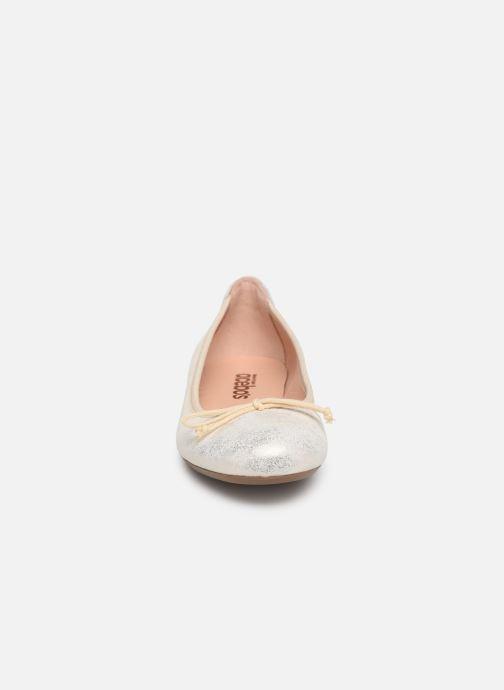 Ballerines Acebo's Julia Or et bronze vue portées chaussures
