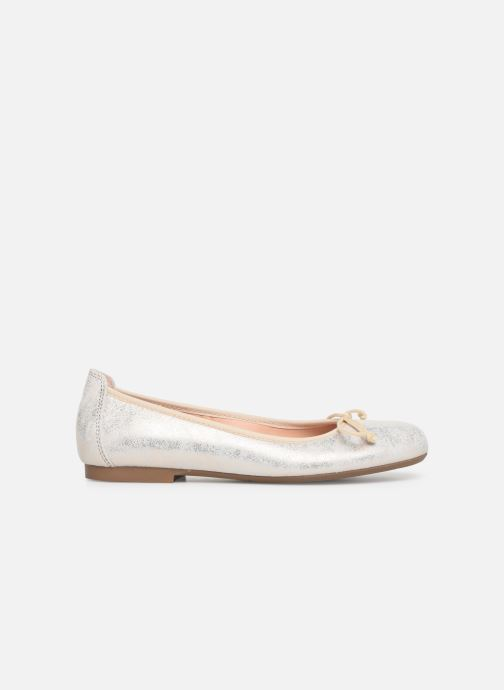 Ballet pumps Acebo's Julia Bronze and Gold back view