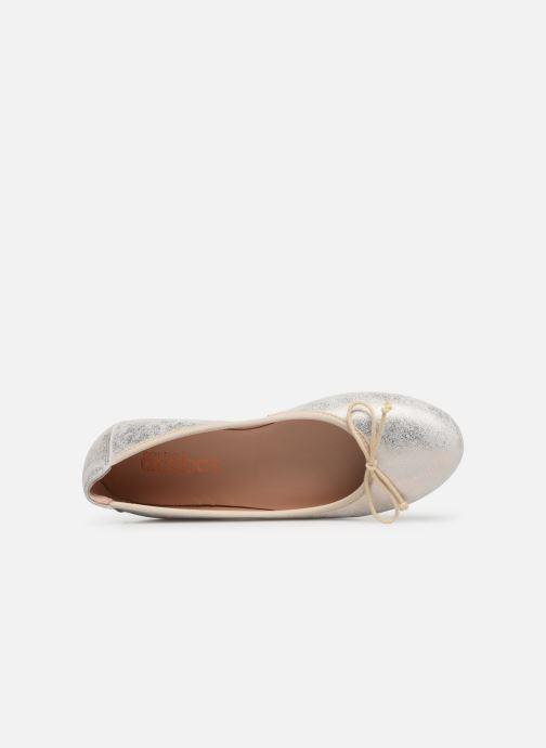 Ballerinas Acebo's Julia gold/bronze ansicht von links