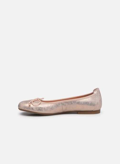 Ballet pumps Acebo's Julia Silver front view
