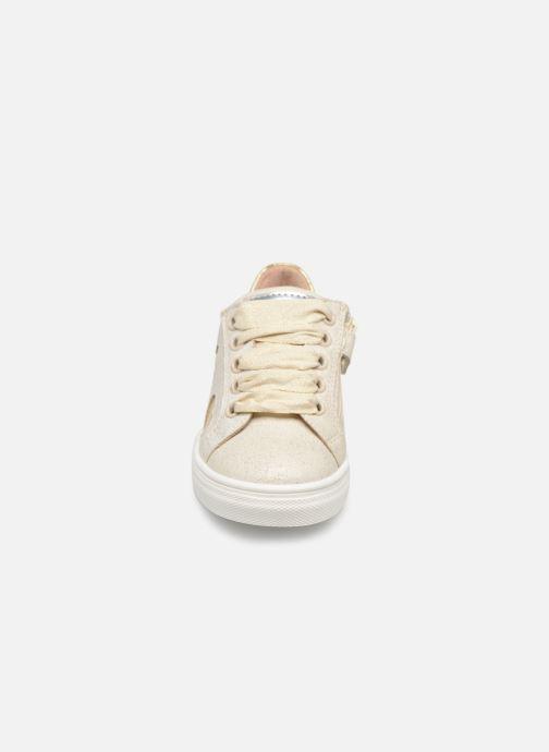 Baskets Acebo's L.A. Or et bronze vue portées chaussures