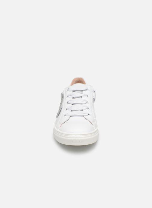 Baskets Acebo's Carolina Blanc vue portées chaussures