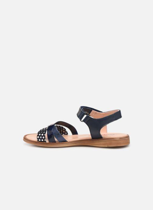 Sandales et nu-pieds Acebo's Apolina Bleu vue face