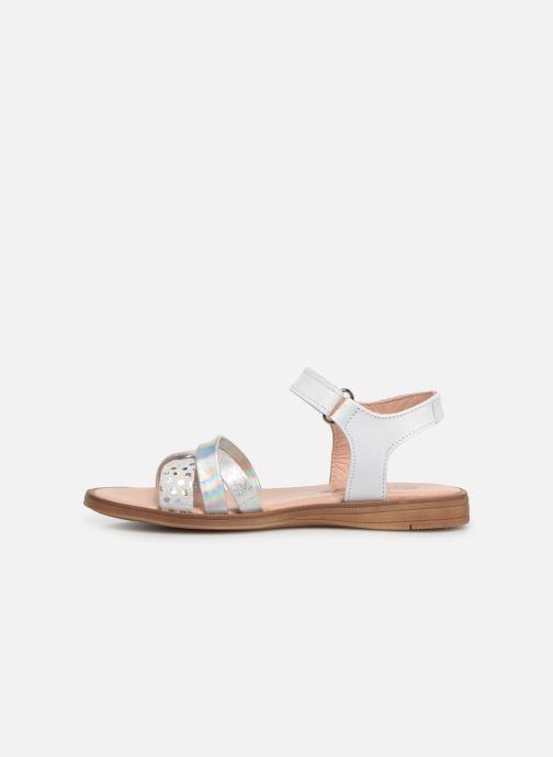 Sandales et nu-pieds Acebo's Apolina Blanc vue face