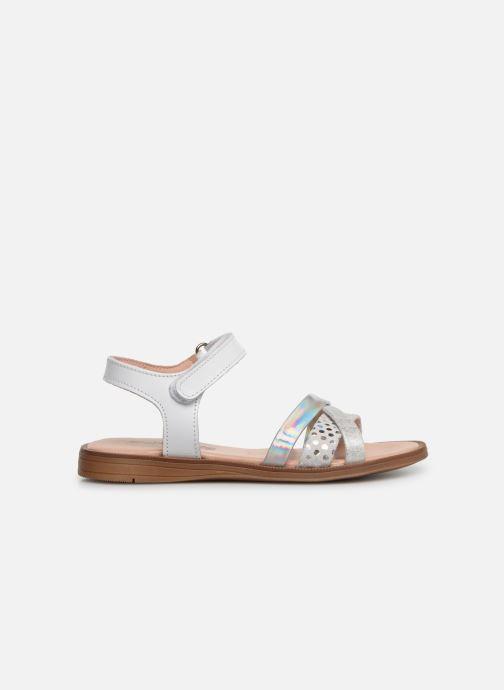 Sandales et nu-pieds Acebo's Apolina Blanc vue derrière