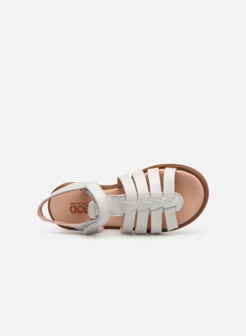 Sandales et nu-pieds Acebo's Alicia Gris vue gauche
