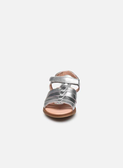 Sandales et nu-pieds Acebo's Alicia Argent vue portées chaussures