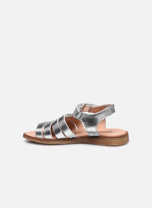 Sandales et nu-pieds Acebo's Alicia Argent vue face
