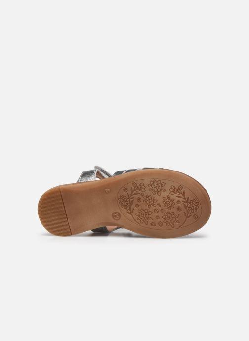 Sandales et nu-pieds Acebo's Alicia Argent vue haut