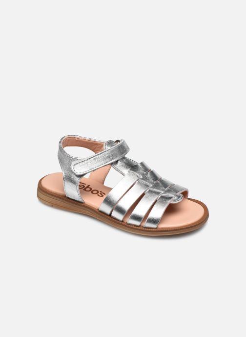 Sandales et nu-pieds Acebo's Alicia Argent vue détail/paire