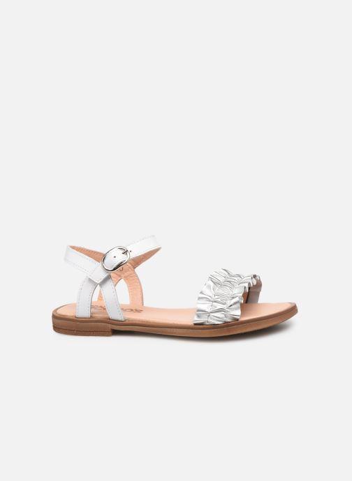 Sandales et nu-pieds Acebo's Martina Argent vue derrière