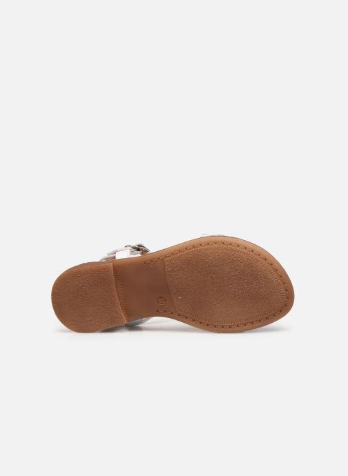 Sandales et nu-pieds Acebo's Martina Argent vue haut