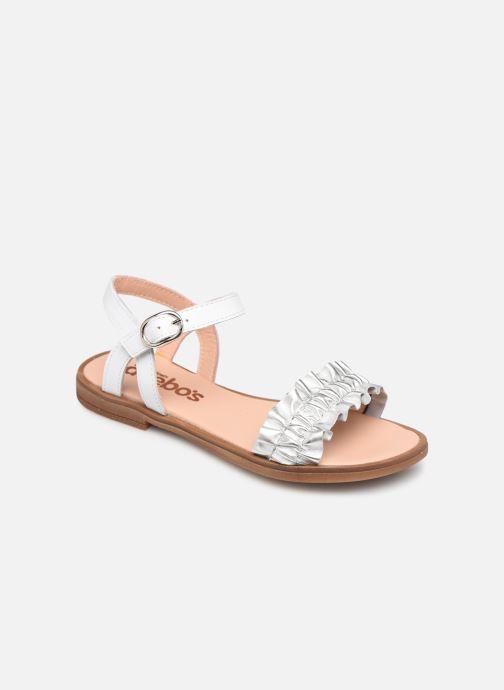 Sandales et nu-pieds Acebo's Martina Argent vue détail/paire