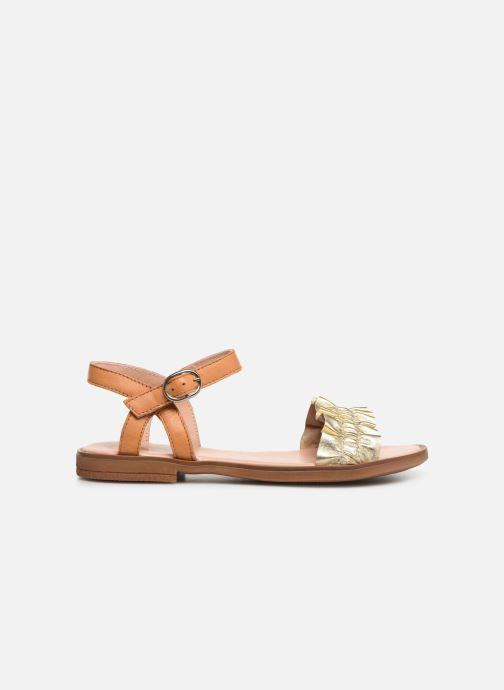 Sandales et nu-pieds Acebo's Martina Or et bronze vue derrière