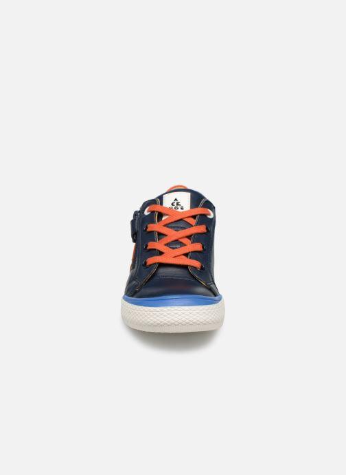 Baskets Acebo's Malta Bleu vue portées chaussures