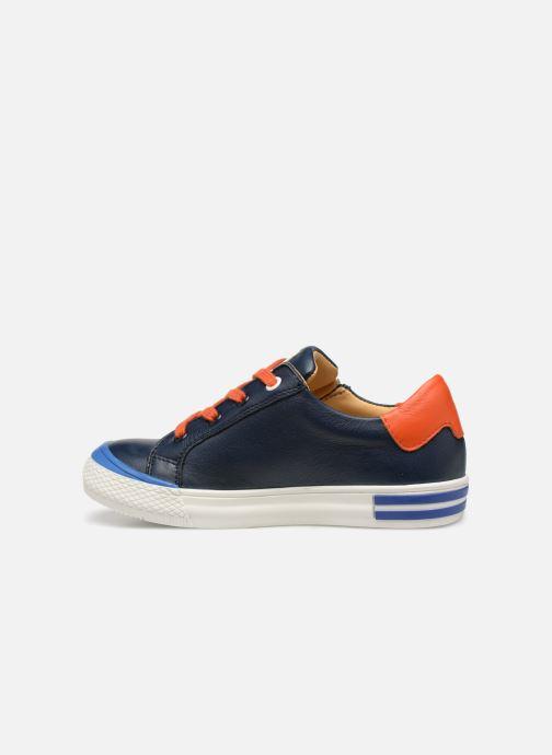 Sneaker Acebo's Malta blau ansicht von vorne