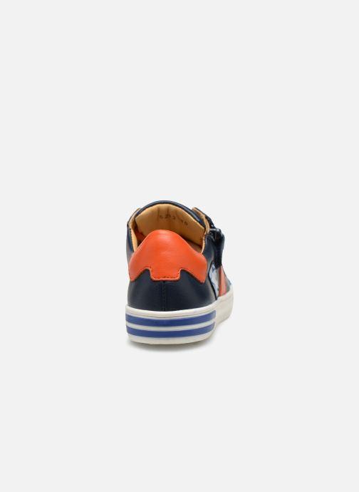 Sneaker Acebo's Malta blau ansicht von rechts